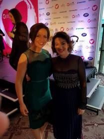 With Maura Derrane