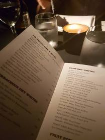 Amazing menu